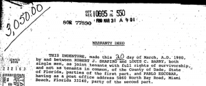 Escobar paid $760,000 for the home in 1980