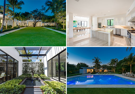 The home at 5045 Lakeview Drive in Miami Beach