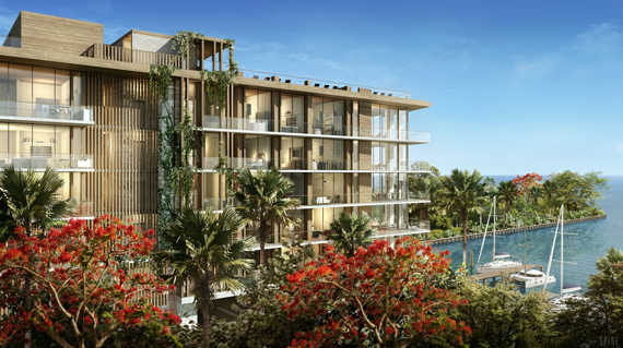 he Fairchild Coconut Grove, a planned fi ve-story, 26-unit boutique condominium, will begin preconstruction sales in 2016.
