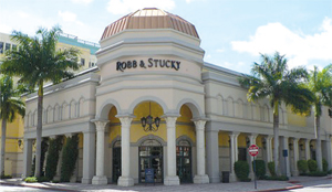 Lord & Taylor leased Robb & Stucky's former space at Mizner Park in Boca Raton