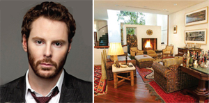 Napster and Facebook cofounder Sean Parker and The Bacchus House at 40 West 10th Street, which Parker bought in 2010