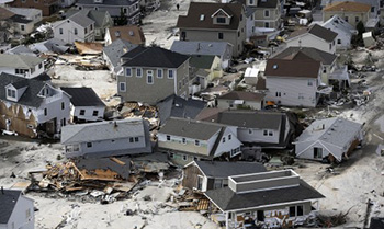 Sandy damage on Staten Island