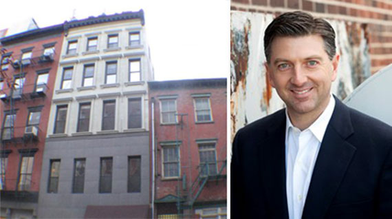 77 Warren Street in Tribeca and architect Andre Kikoski