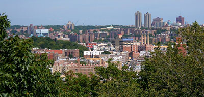 The Bronx, which saw a growth in foreclosures