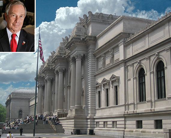 Mayor Michael Bloomberg and the Metropolitan Museum of Art