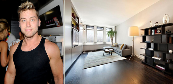 Lance Bass and his Chelsea Mercantile apartment