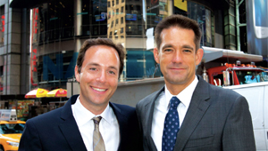 Zillow's Spencer Rascoff (left) and StreetEasy's Michael Smith