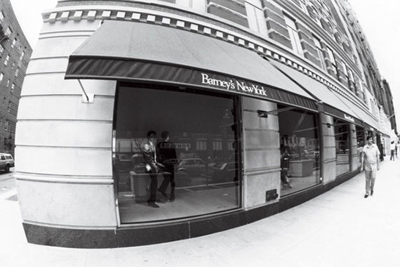 The Barneys store on 17th Street, circa 1982 (Credit: Woman's Wear Daily)