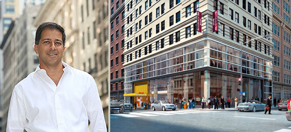 Haim Chera of Crown Acquisitions and 170 Broadway