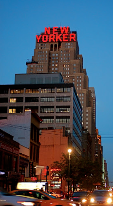 The New Yorker Hotel at 418 Eighth Avenue