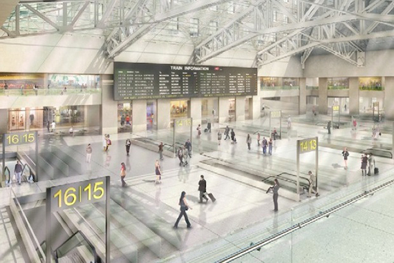 Rendering of Moynihan Station