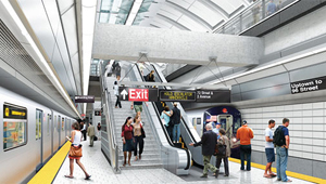Second Avenue Subway rendering
