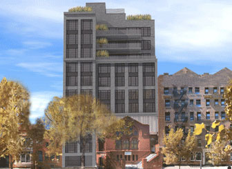Rendering of 124 West 16th Street