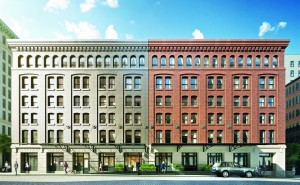 Rendering of the Sterling Mason at 71 Laight Street in Tribeca