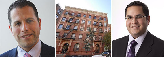 From left: Josh Zegen, 216-218 West 22nd Street and Anand Melwani