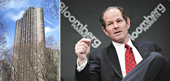 From left: the Corinthian and former Governor Eliot Spitzer