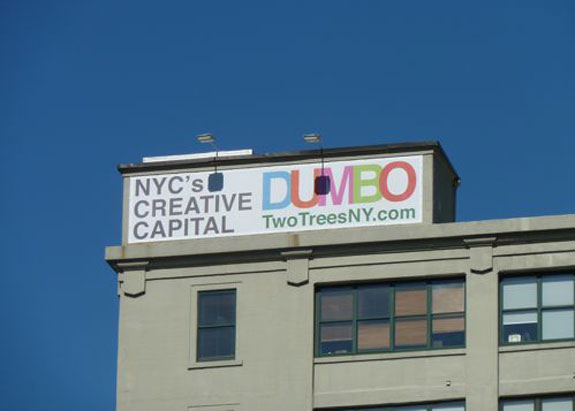 A Dumbo Two Trees advert