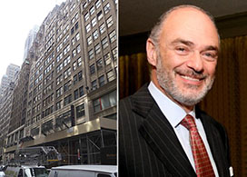 From left: 240 West 45th Street and Robert Weisz