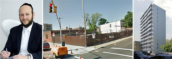 From left: Eli Karp, corner of Nostrand Avenue and Albemarle Road and 2415 Albemarle Road
