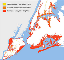 New York City flood zones