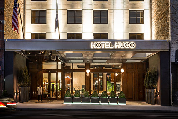 Hotel Hugo on Greenwhich Street