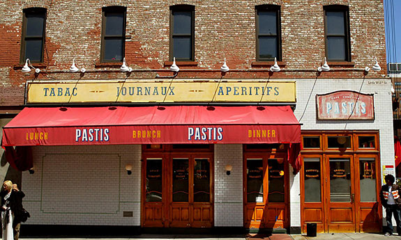 In what location will famed eatery Pastis eventually land?