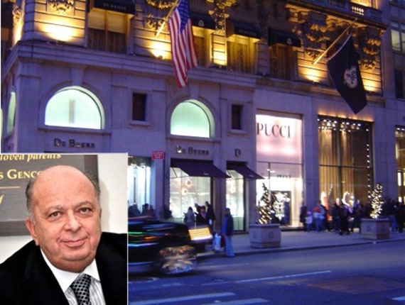 St. Regis retail space and Stanley Chera