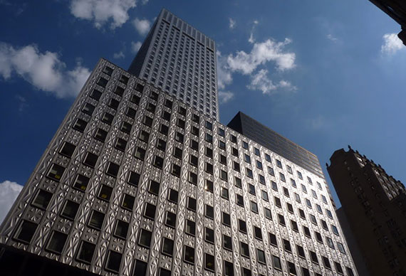 The Mobil Building at 150 East 42nd Street