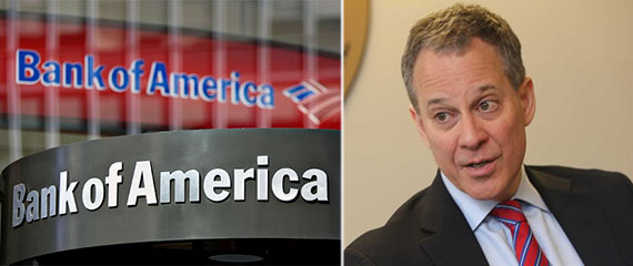 Bank of America and New York Attorney General Eric Schneiderman