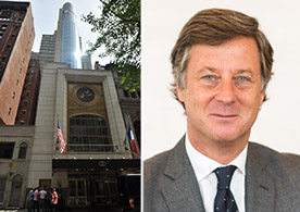 From left: 45 West 44th Street and Accor Group chairman and CEO Sebastien Bazin