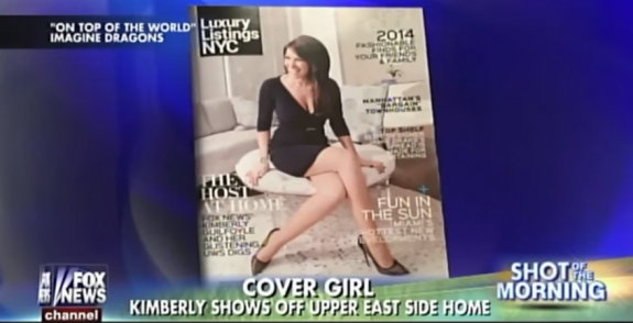 "The cover of Luxury Listings NYC on ""Fox & Friends"""