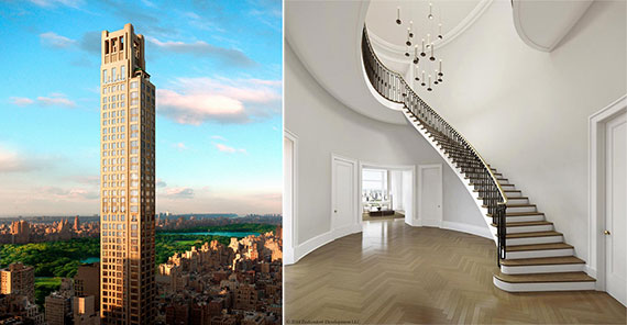 Renderings of 520 Park Avenue