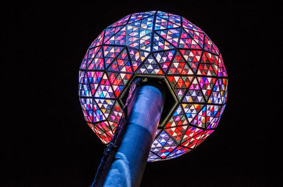 The ball on Times Square