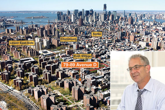 From left: Avenue D and L+M Development's Ron Moelis