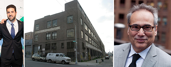 From left: Jacob Toll, 76 North 4th Street in Williamsburg, and Garry Steinberg