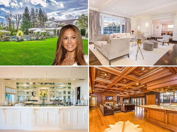 Jennifer Lopez's home in Hidden Hills, Calif.