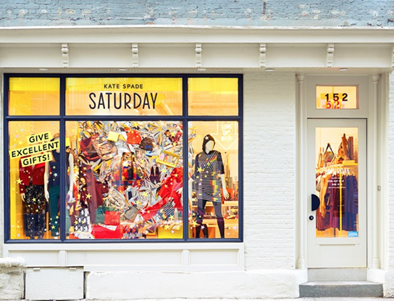 Kate Spade New York – Shop crisp color, graphic prints and playful sophistication. From handbags and clothing to jewelry, accessories, home decor, stationery and more. Free Shipping and Returns to all 50 states! Salesforce Commerce Cloud SiteGenesis.
