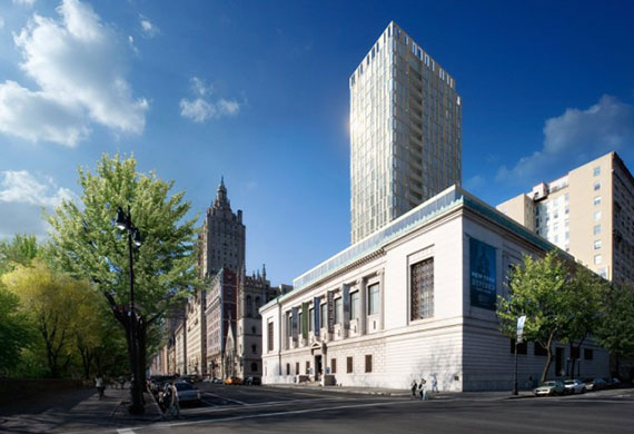 Rendering of 7-13 West 96th Street (Credit: dBOX)