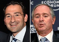 Jon Gray and Steve Schwarzman-