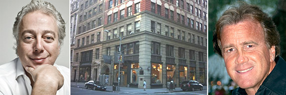 From left: Aby Rosen, 85 Fifth Avenue and Jeff Sutton