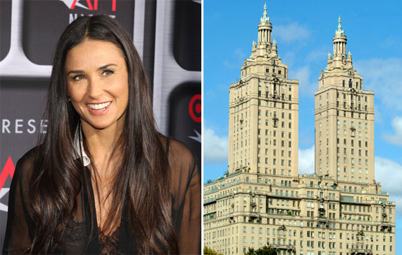 Demi Moore and the San Remo