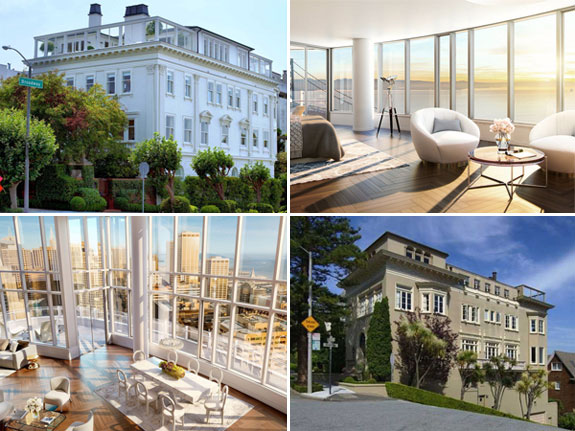 San Fransisco's priciest listings