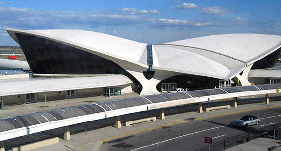 The former TWA terminal on JFK Airport