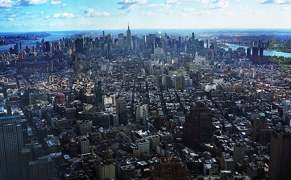 The view from One WTC