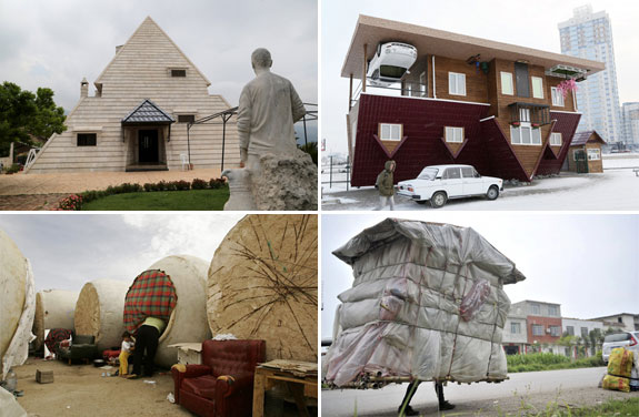 Unusual home from around the world