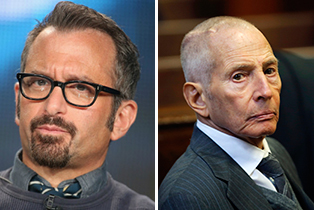 From left: Andrew Jarecki and Robert Durst