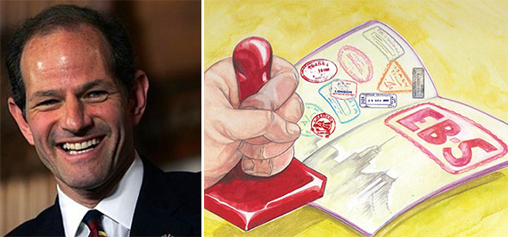 Eliot Spitzer and an EB-5 illustration
