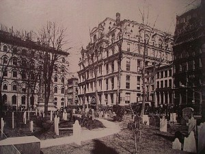 The Equitable Life Building in New York