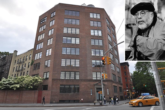 32 Morton Street in the West Village (inset: Francis Ford Coppola)