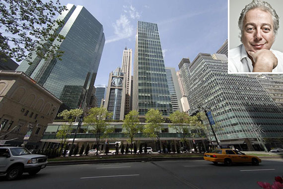 Lever House at 390 Park Avenue in Midtown (inset: Aby Rosen)